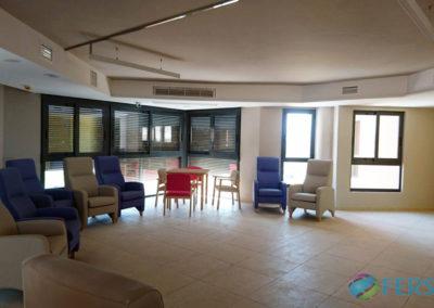 Instalación de climatización y fontaneria en Centro Sociosanitario Residencia Montecantalar en El Esparragal, Murcia