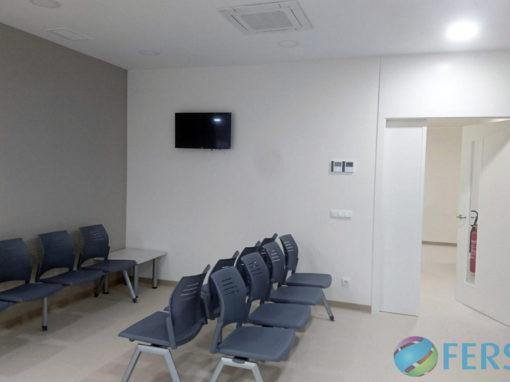 Instalación de climatización y electricidad en centro de Hemodiálisis Diaverum en Caravaca de la Cruz, Murcia