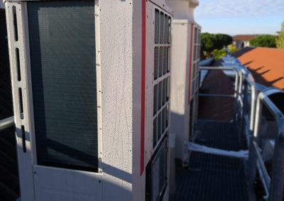 Obras de adecuación de local como Centro Asistencial MC Mutual climatización  en Caldes de Montbui (Barcelona)