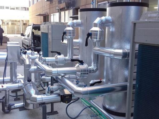 """Suministro e instalación de Equipos de Tratamiento de aire destinados a las salas de preparación de medicamentos del servicio de farmacia del hospital """"Santa Bárbara"""""""