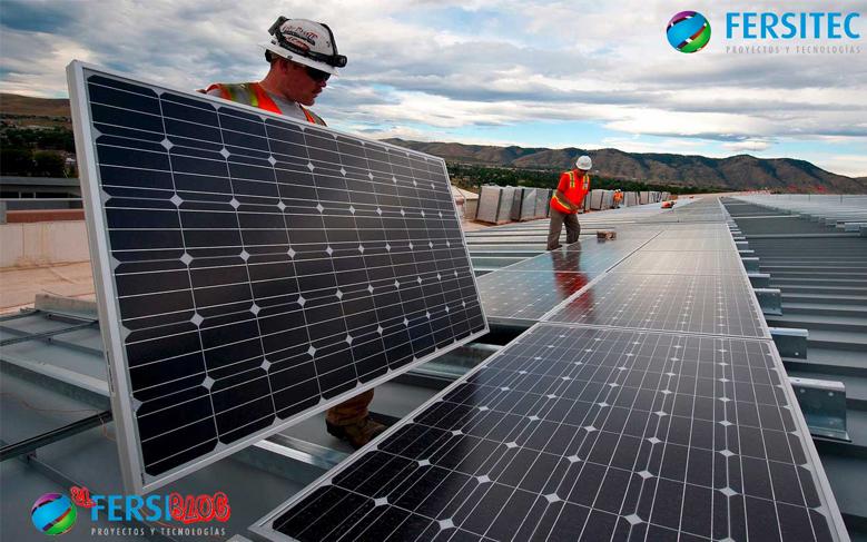 Placas solares limpieza mantenimiento